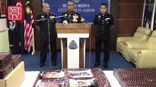 Rokok seludup RM8 juta dirampas