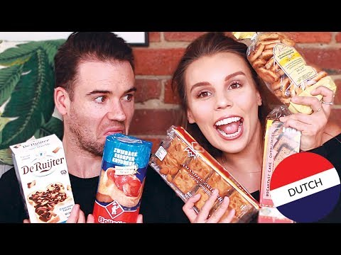 AUSTRALIANS TRY DUTCH FOOD!!!  [ TASTY or Terrible? ]