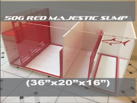 50g Red Majestic Sump (36