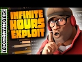 TF2: Infinite Hours Exploit/Bug - I Do NOT Have 3000 Hours on Soldier!