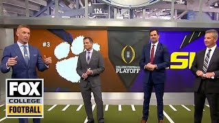 CFB on FOX crew makes their picks for the College Football Championship | CFB ON FOX