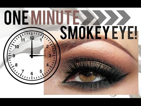 The 1 Minute Smokey Eye | Makeup Geek