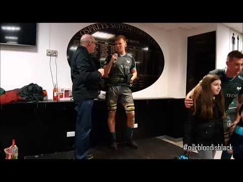 Ospreys Supporters Club interview Adam Beard & Sam Cross