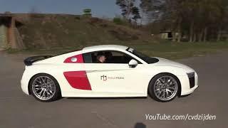 Supercharged Lamborghini Huracan w/ Akrapovic - LOUD Accelerations & Drags!