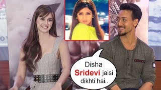 Aww! Tiger Shroff Says His Girlfriend Disha Patani Looks Exactly Like Sridevi