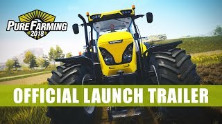 Pure Farming 2018 Launch Trailer (French)