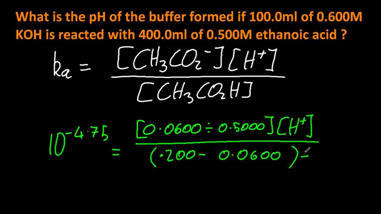 solve problems involving the composition and ph of a 18 2 2 solve problems involving the composition and ph of a specified buffer system ib chemistry hl