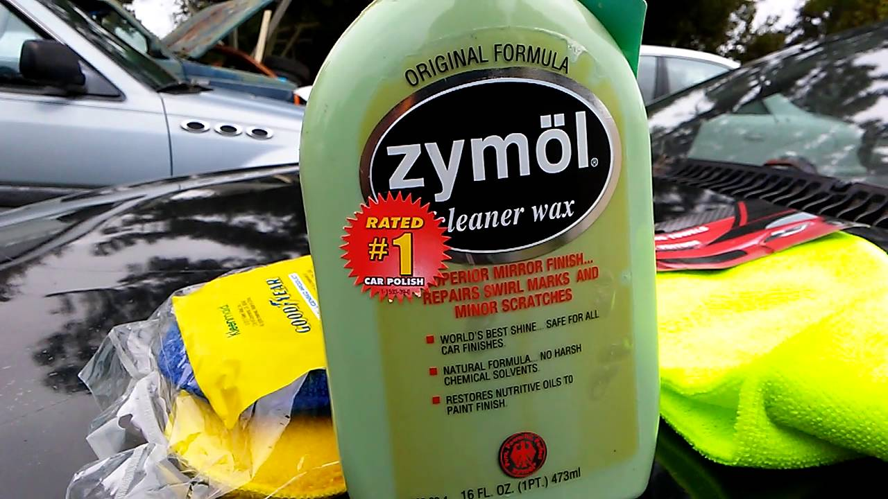 Zymol cleaner wax demo review