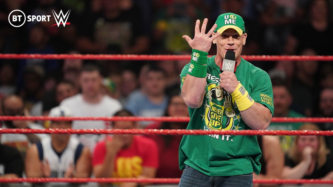 John Cena explains the motivation behind his WWE return & calls out Roman Reigns   Monday Night Raw