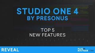 Presonus Studio One 4 | Review Of Top 5 New Features
