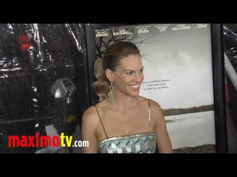 "Hilary Swank at ""Conviction"" Premiere Arrivals"