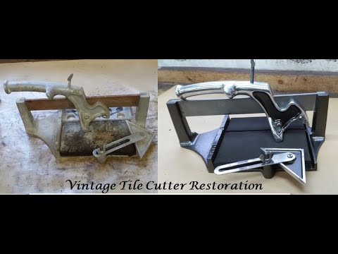 solid unit small tile cutter youtube