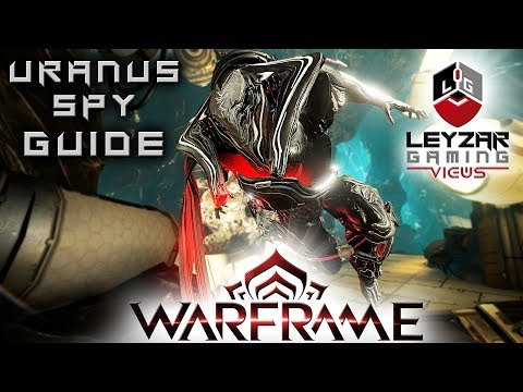 Warframe (Guide) - Uranus Spy Mission Rosalind Fast & Easy (Loki Gameplay) thumbnail