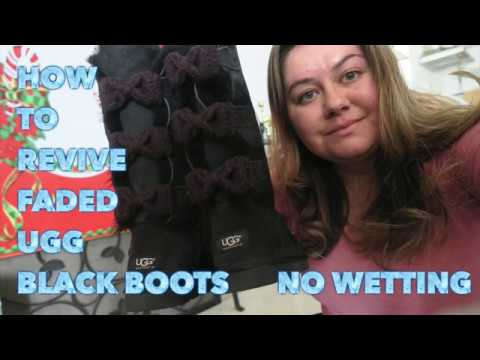 How To Revive Black Ugg Boots