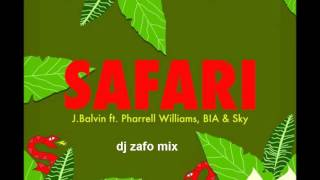 J Balvin Safari Feat Pharrell Williams Bia Sky ( Version Cumbia ) Dj ZaFo MiX
