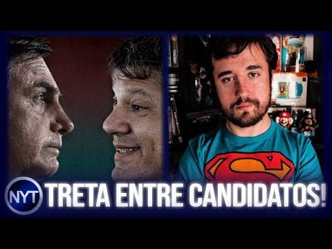 Jair Bolsonaro TRETA com Fernando Haddad; Leon é chamado de MAU CARÁTER pelo Contente!