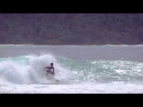 Diego Mignot Gets Barreled in Mentawais