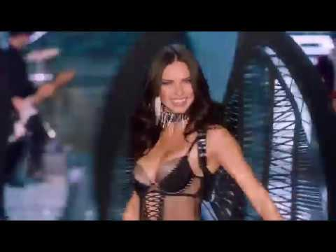 Adriana Lima on the Victoria's Secret Fashion Show Runway 2017