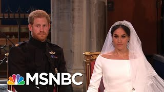 Joy Reid And Her Panel Celebrate The Royal Wedding! | AM Joy | MSNBC