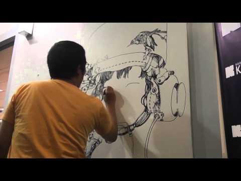 "Katsuya ""Terra"" Terada Live Drawing"