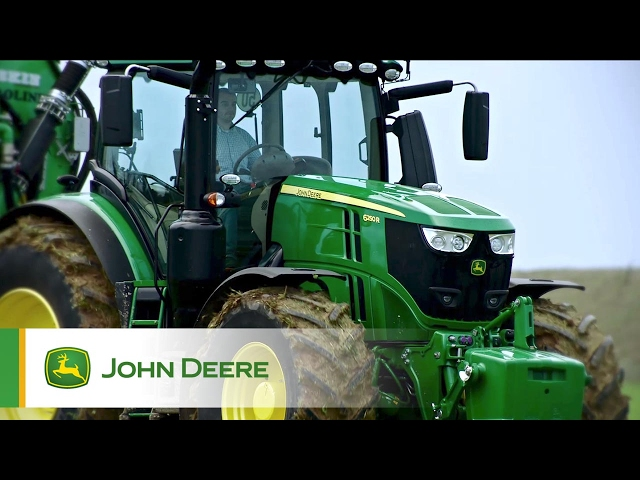 Tracteurs 6230R et 6250R John Deere