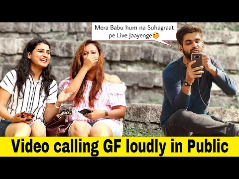Video Calling My Girlfriend Prank | Ft. HighStreet Junkies | Pranks In India