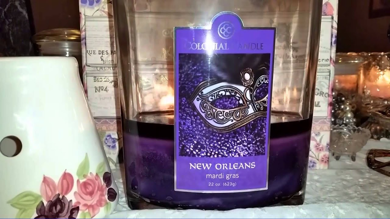 colonial candle review new orleans mardi gras