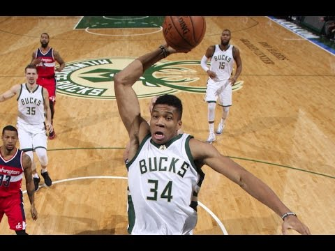 Giannis Antetokounmpo Scores CAREER HIGH 39 points against Wizards | 12.23.16