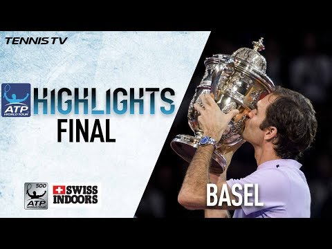 Highlights Federer Beats Delpo For Eighth Basel Title 2017