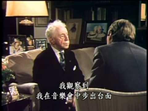 Arthur Rubinstein at 90 - INTERVIEW (part.2) 中国副标题