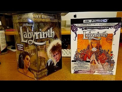 Labyrinth 30th anniversary Limited Edition Gift Set Unboxing and ...