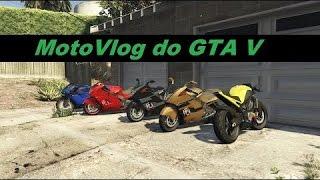 gta 5 online motovlog com os amigos + role de moto
