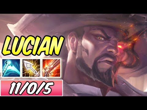 S+ FULL CRIT LUCIAN ADC | New Build & Runes | League of Legends