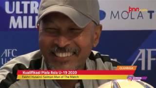 Timnas U-19 vs Timnas Timor Leste: Dipuji Fakhri Husaini, Begini Reaksi Salman - JPNN.com