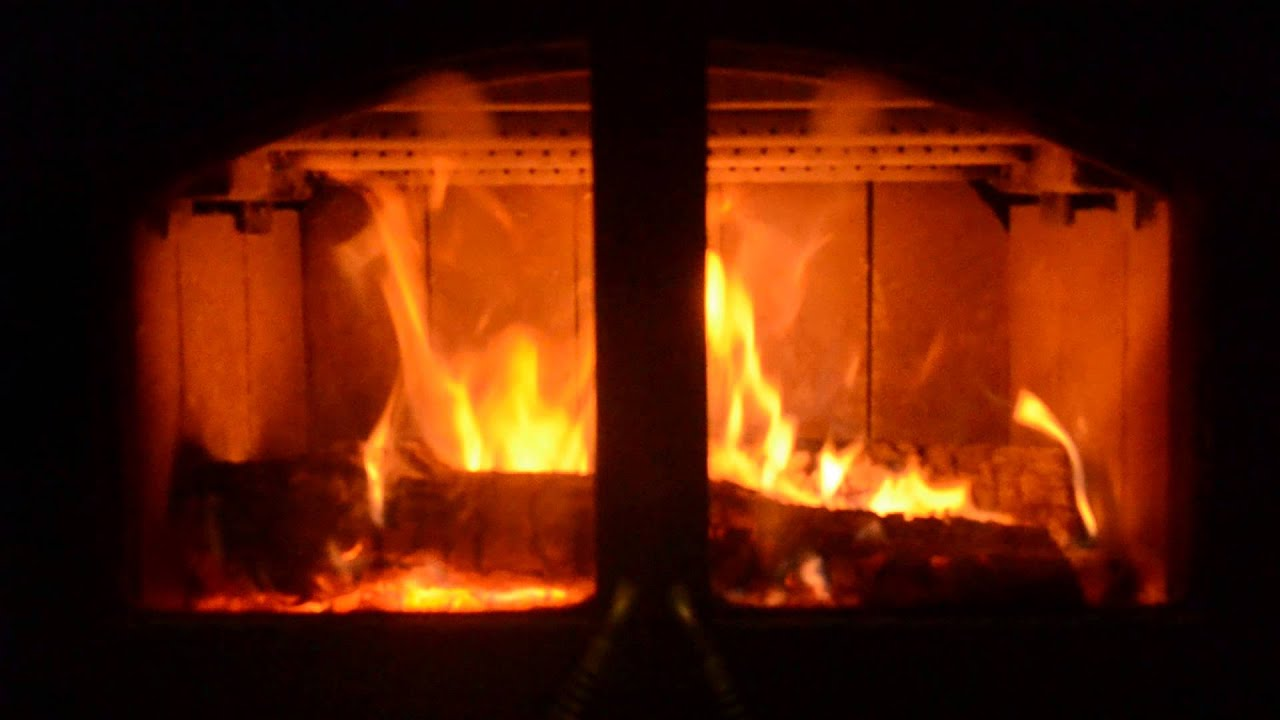 our new wood buring fireplace youtube