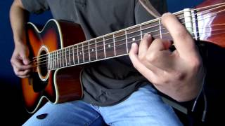 �������� ���� 28 Weeks Later Theme on acoustic guitar (Re-do) ������