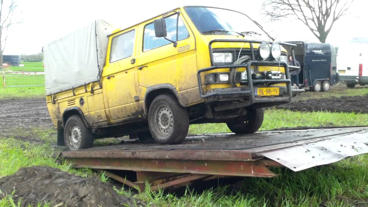 VW Syncro 4x4 double cab on the balance , TOV 2016