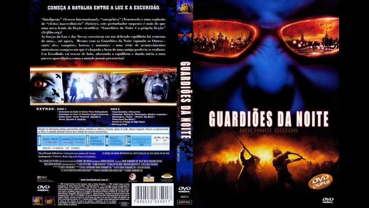 Guardioes Da Noite Nochnoy Dozor 2004 Youtube