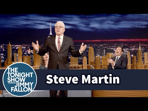 Steve Martin Reflects on His First StandUp Set in 35 Years