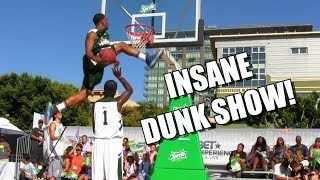 One of the Best Dunk Shows Ever Raw 2013 BET Experience Dunks