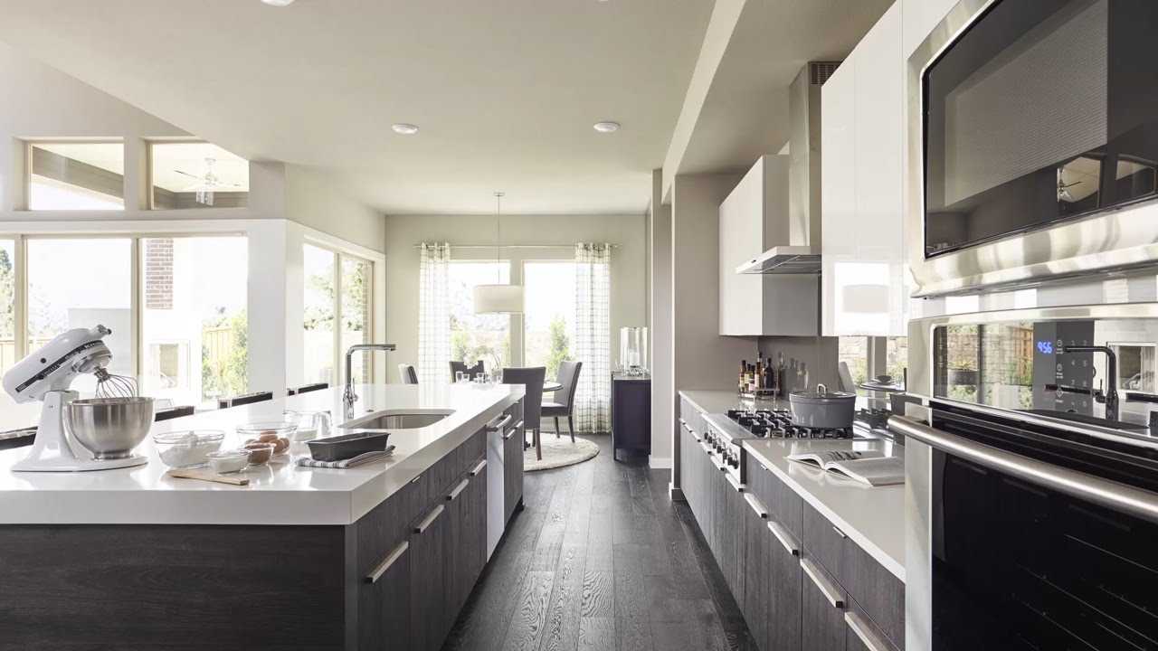 MainVue Homes Gourmet Kitchens - YouTube