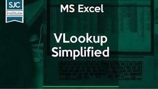 #MS-Excel Tricks 14 | VLookup Simplified| MS Excel Workbook|