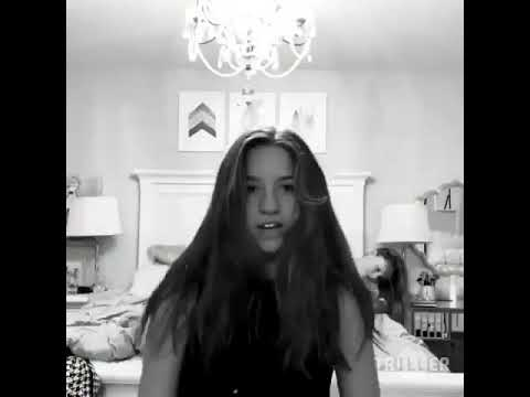 Mackenzie Ziegler dancing to Kim Possible theme song