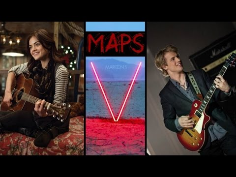 Maroon 5 - Maps | Traduction Française (+katie&luke)