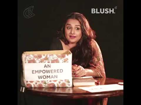 Cool Clippings - An Empowered Woman by Vidya Balan