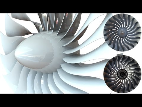 SolidWorks Tutorial #254 : Jet Engine turbine propeller -fan (surfacing)