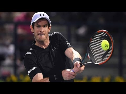 Murray Takes Charge With Delicate Dubai 2017 Hot Shot