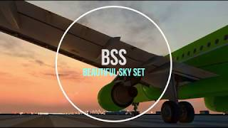 BSS - Beautiful Sky Set for Microsoft Flight Simulator X / P3D v3 / P3Dv4