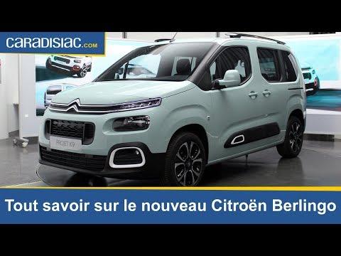 Tout savoir sur le nouveau Citroën Berlingo