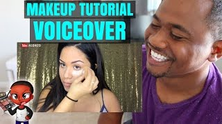 Full CASKET READY makeup tutorial voiceover | Alonzo Lerone